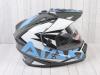 Шлем (мотард) Ataki JK802 Rampage серый/синий глянцевый   M превью 7