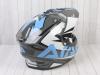 Шлем (мотард) Ataki JK802 Rampage серый/синий глянцевый   M превью 9