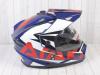 Шлем (мотард) Ataki JK802 Rampage синий/красный глянцевый   M превью 7