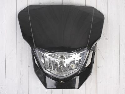 Фара + Обтекатель B-018 кросс черная фото 3