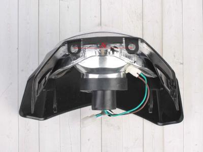 Фара + Обтекатель B-018 кросс черная фото 9