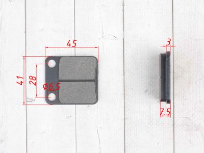 Колодки тормозные дисковые  #3 фото 3