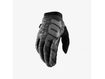 Мотоперчатки 100% Brisker Glove Heather Grey XL (10016-007-13) фото 1