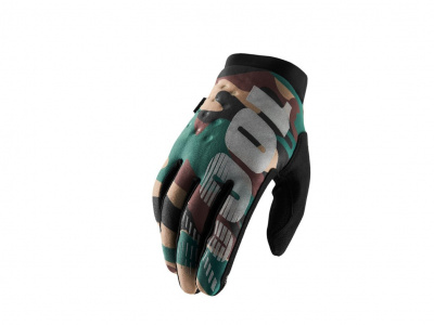 Мотоперчатки 100% Brisker Glove Camo/Black M (10016-061-11) фото 1
