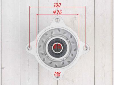 Ступица колеса задняя алюминиевая YCF 14 1.85 фото 5