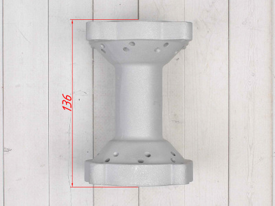 Ступица колеса задняя алюминиевая YCF 14 1.85 фото 7