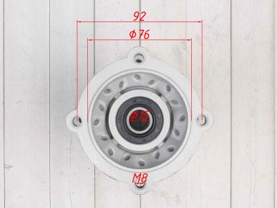 Ступица колеса задняя алюминиевая YCF 14 1.85 фото 9