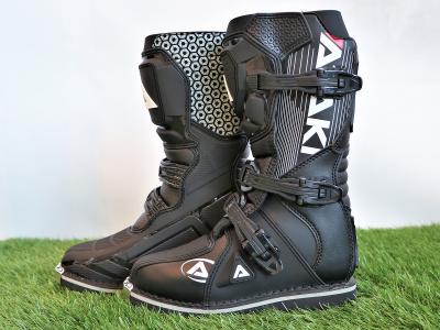 Мотоботы кроссовые ATAKI MX-002Y черные 35 фото 1
