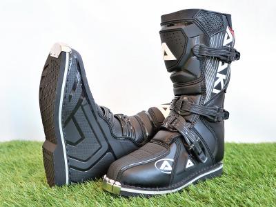 Мотоботы кроссовые ATAKI MX-002Y черные 35 фото 5