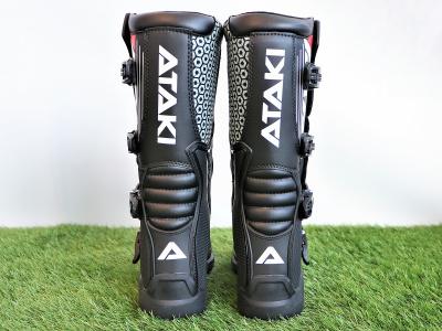 Мотоботы кроссовые ATAKI MX-001 черные 48 фото 5