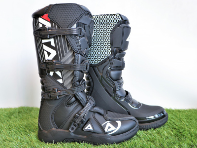 Мотоботы кроссовые ATAKI MX-001 черные 47 фото 1