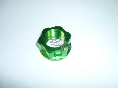 Гайка траверсы CNC зеленая фото 1