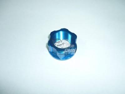Гайка траверсы CNC синяя фото 1