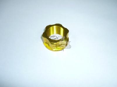 Гайка траверсы CNC золотая фото 1