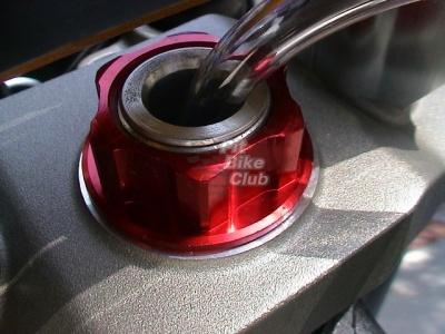 Гайка траверсы CNC золотая фото 3