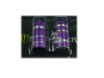 Колпачки для камер CNC (цилиндр) фиолетовые фото 1