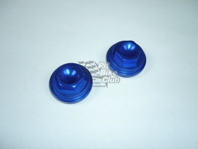 Крышки клапанов CNC YX110/125 синие фото 1