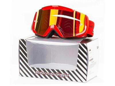 Очки Мотокросс GTX 5003 красные фото 1