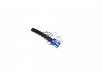 Бензоклапан синий CNC с замком фото 1