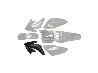 Боковина бака левая CRF70 черная фото 1