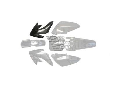Боковина бака правая CRF70 черная фото 1