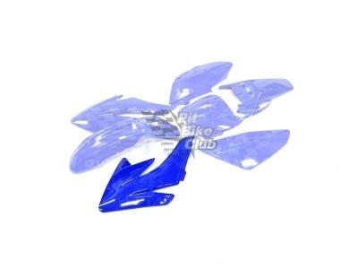 Боковина бака правая CRF70 синяя фото 1