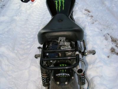 Двигатель YX 125см3 в сборе Полуавтомат первичное сцепление фото 7