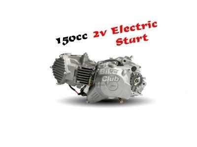 Двигатель YX 150см3 в сборе, электростартер 1P60FMJ (WD150) фото 1
