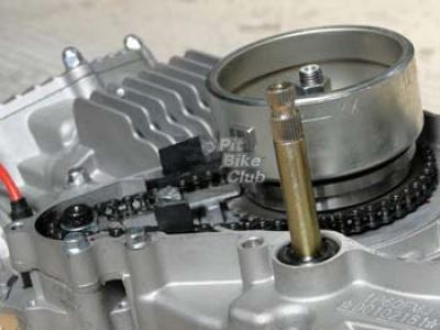 Двигатель YX 150см3 в сборе, электростартер 1P60FMJ (WD150) фото 5