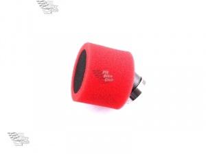 Фильтр воздушный 38мм угловой красный