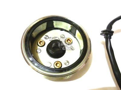 Генератор в сборе KAYO двиг. YX140Е см3 (эл.стартер) CN фото 5