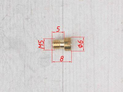 Жиклер главный топливный NIBBI PE 145 (1 шт.) фото 7