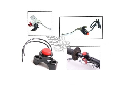Кнопка CNC стоп-двигатель черная фото 1