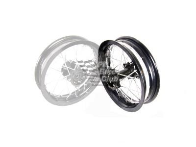 Диск задний в сборе 10 - 2,15 мотард алюминий фото 1