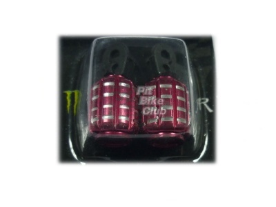 Колпачки для камер CNC (гранаты) красные фото 1