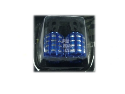 Колпачки для камер CNC (гранаты) синие фото 1