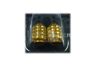 Колпачки для камер CNC (гранаты) золотые фото 1