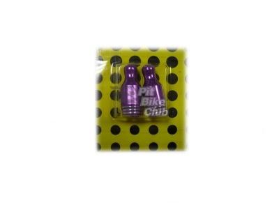 Колпачки для камер CNC (кегли) фиолетовые фото 1