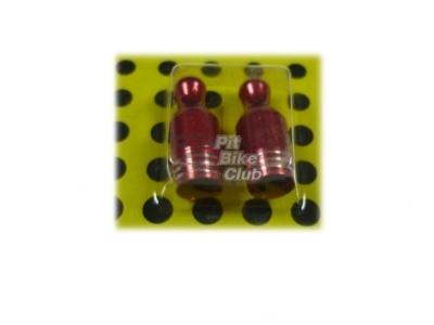 Колпачки для камер CNC (кегли) красные фото 1