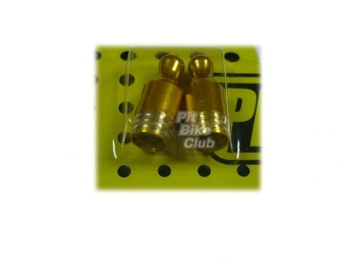Колпачки для камер CNC (кегли) золотые фото 1