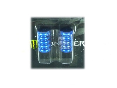 Колпачки для камер CNC (пружины) синие фото 1