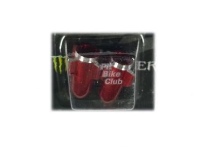 Колпачки для камер CNC (ракеты) красные фото 1