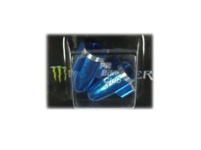 Колпачки для камер CNC (ракеты) синие фото 1