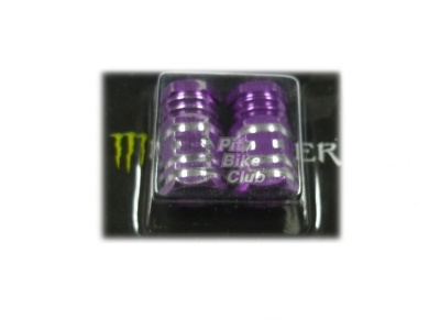Колпачки для камер CNC (шестигран.) фиолетовые фото 1