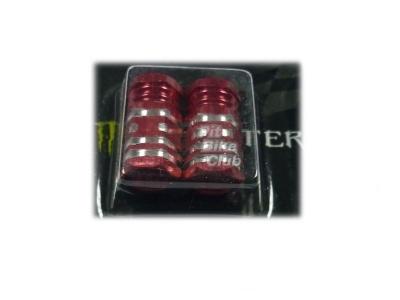 Колпачки для камер CNC (шестигран.) красные фото 1