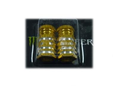 Колпачки для камер CNC (шестигран.) золотые фото 1