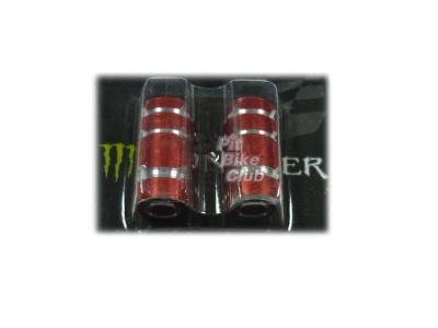 Колпачки для камер CNC (цилиндр) красные фото 1