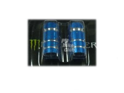 Колпачки для камер CNC (цилиндр)  синие фото 1