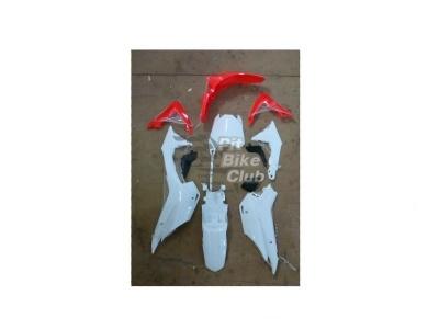 Пластик для питбайка  BSE 2014 PH10 красный фото 1