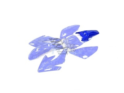 Крыло заднее CRF70 синее фото 1